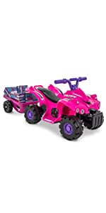 ride on quad, battery powered ride on, girls ride on car