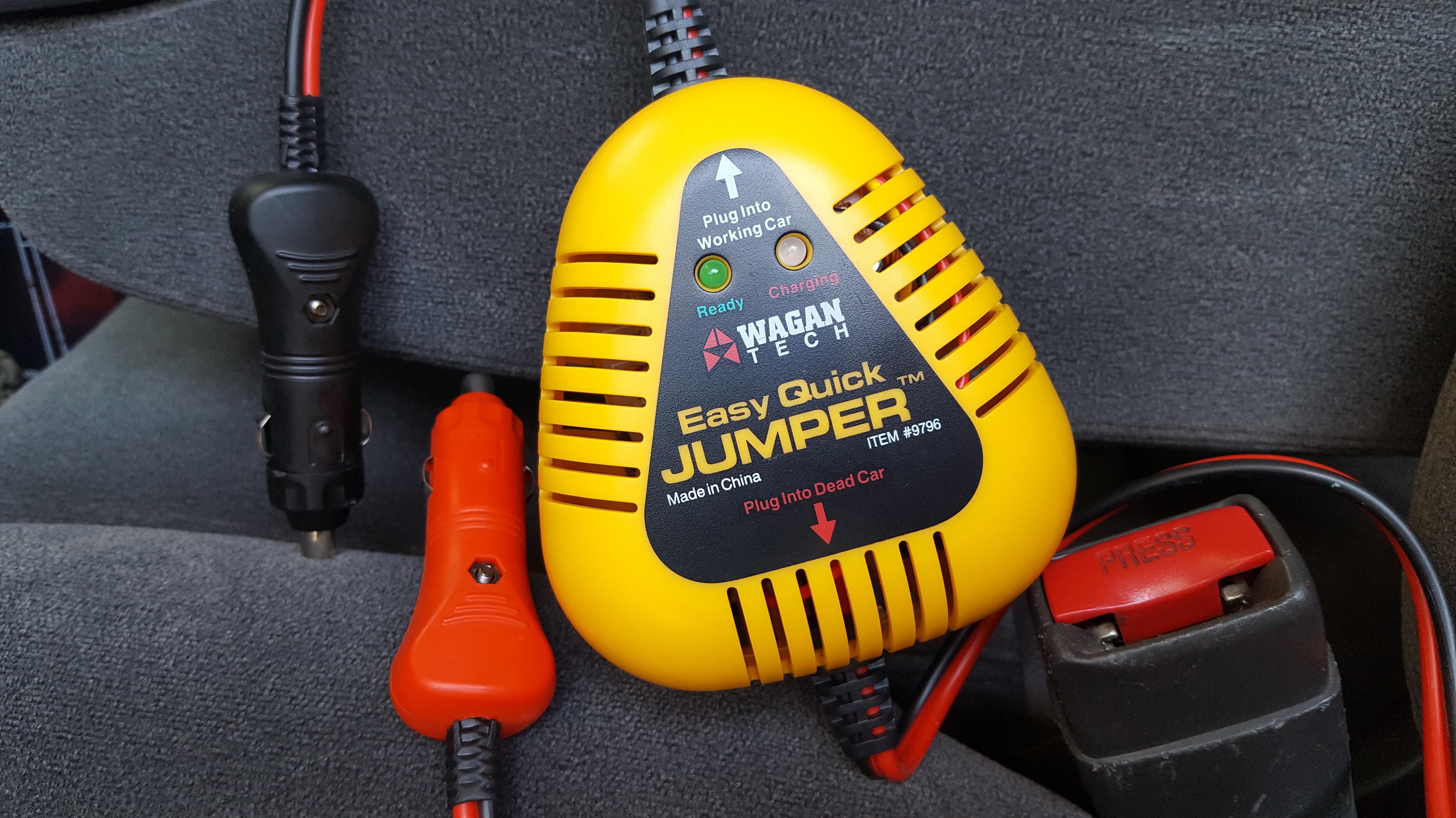 Automotive Jump Starters Wagan EL9796 Easy Quick Jumper In-Car ...