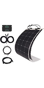 solar panel,solar panel kit,100w solar panel,rv kit,solar battery charge,solar charge controller