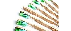 toothbrush, dental, bamboo, biodegradeable, natural