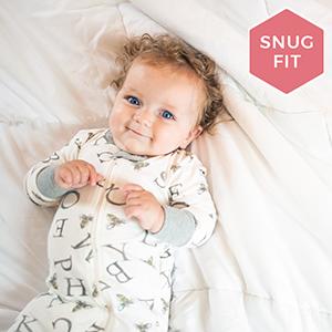 Burts Bees Baby Sleeper Pajamas PJs Footies Zip Up Organic Cotton Clothing Girls Boys Unisex Newborn