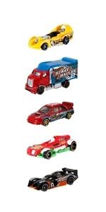 Hot Wheels Pack de 5 vehículos