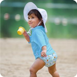 girl boy toddler infant newborn baby print swim diaper nappy training pants