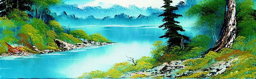 Painting With Bob Ross Learn To Paint In Oil Step By Step Bob