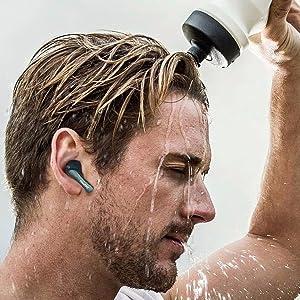 Padmate Pamu Slide Headphones Bluetooth 5.0 True Wireless Earbuds Apple iPhone Indiegogo Earphones