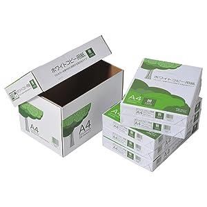 コピー用紙、A4、フタ式箱