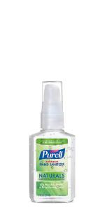 portable sanitizer, travel sanitizer, purse, carryon, gym bag, small sanitizer, on-the-go sanitizer