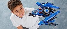 Ninjago Movie, LEGO, building, ninja, creative play, role play, Lightning Jet, minifigures