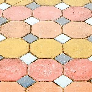 Rayt 1182-81 Blumerox Polvo para Interiores y Exteriores Cemento Blanco o Gris, Cal y Yeso. Altísimo Poder colorante. Pigmentos de Primera Calidad. ...