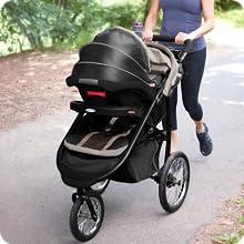 Mom on jog
