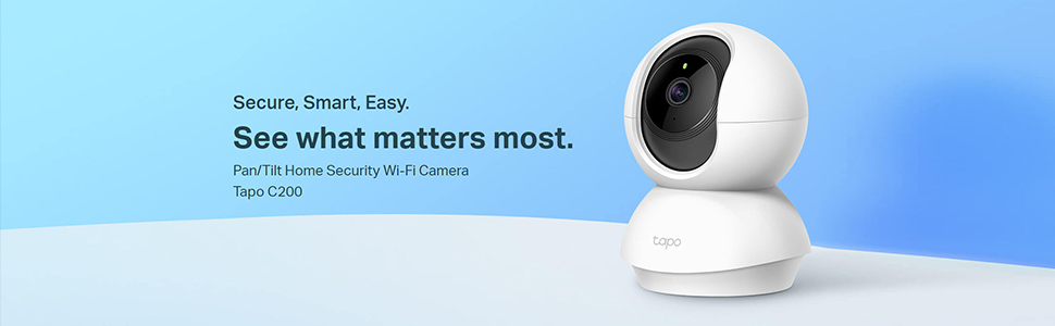 TP-link Camera Spy Security Baby Home Smart Pan Tilt Wi-Fi Wireless Indoor Outdoor Day Night Vision