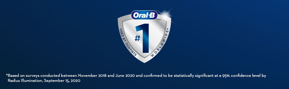 Oral-B CrossAction refills number 1 used by dentists worldwide