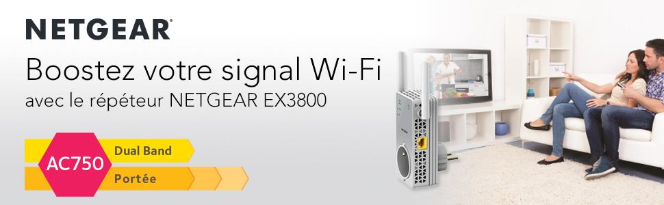 Netgear Boostez votre signal Wi-Fi