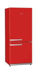 Severin KS 9776 Combi Frigorífico, 173 L / 54 L, Rojo: Amazon.es ...