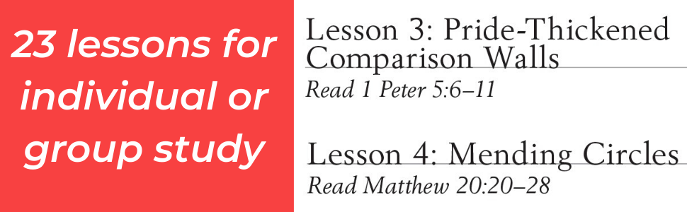 comparison, bible study, social media, pride, christian, religious, women's interests, biblical
