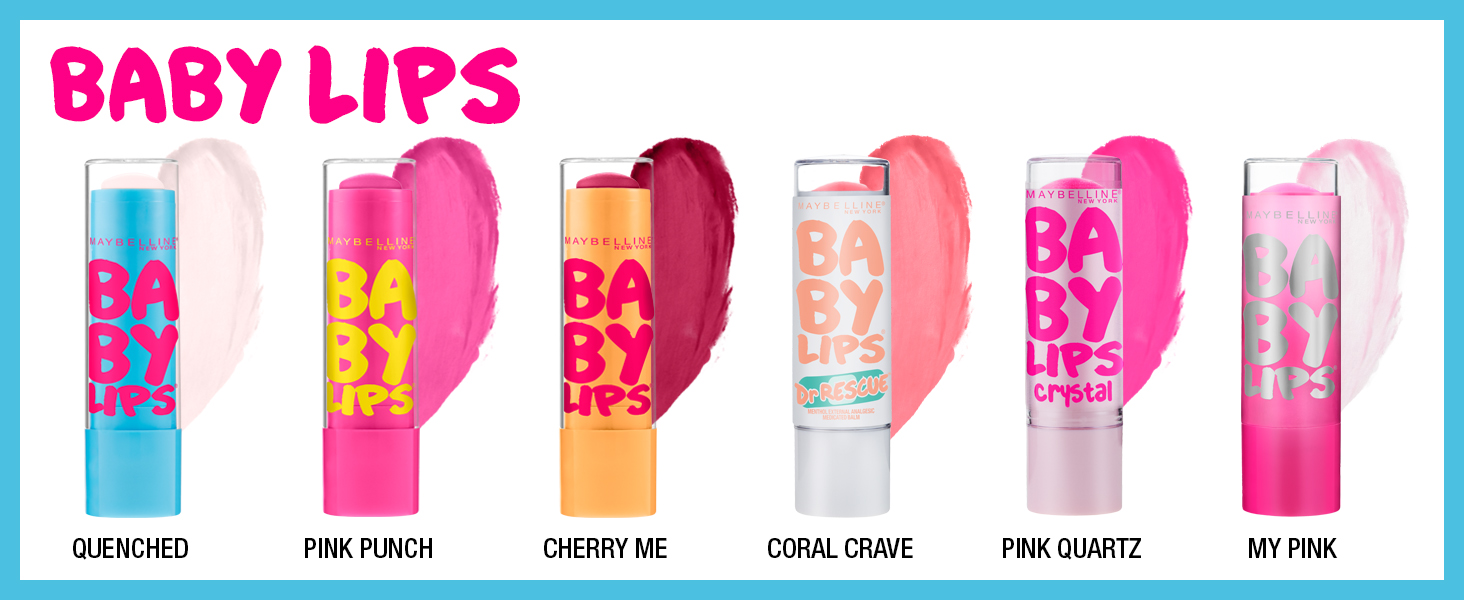 Baby Lips Maybelline New York All Shades