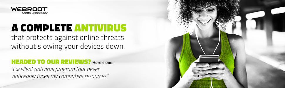 Webroot Antivirus, antivirus, 2018, internet security, pc security, virus protection software