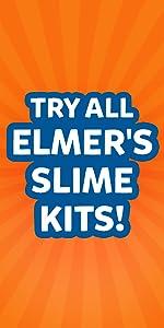 Try all Elmer's Slime Kits