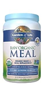 garden of life raw organic meal replacement shake