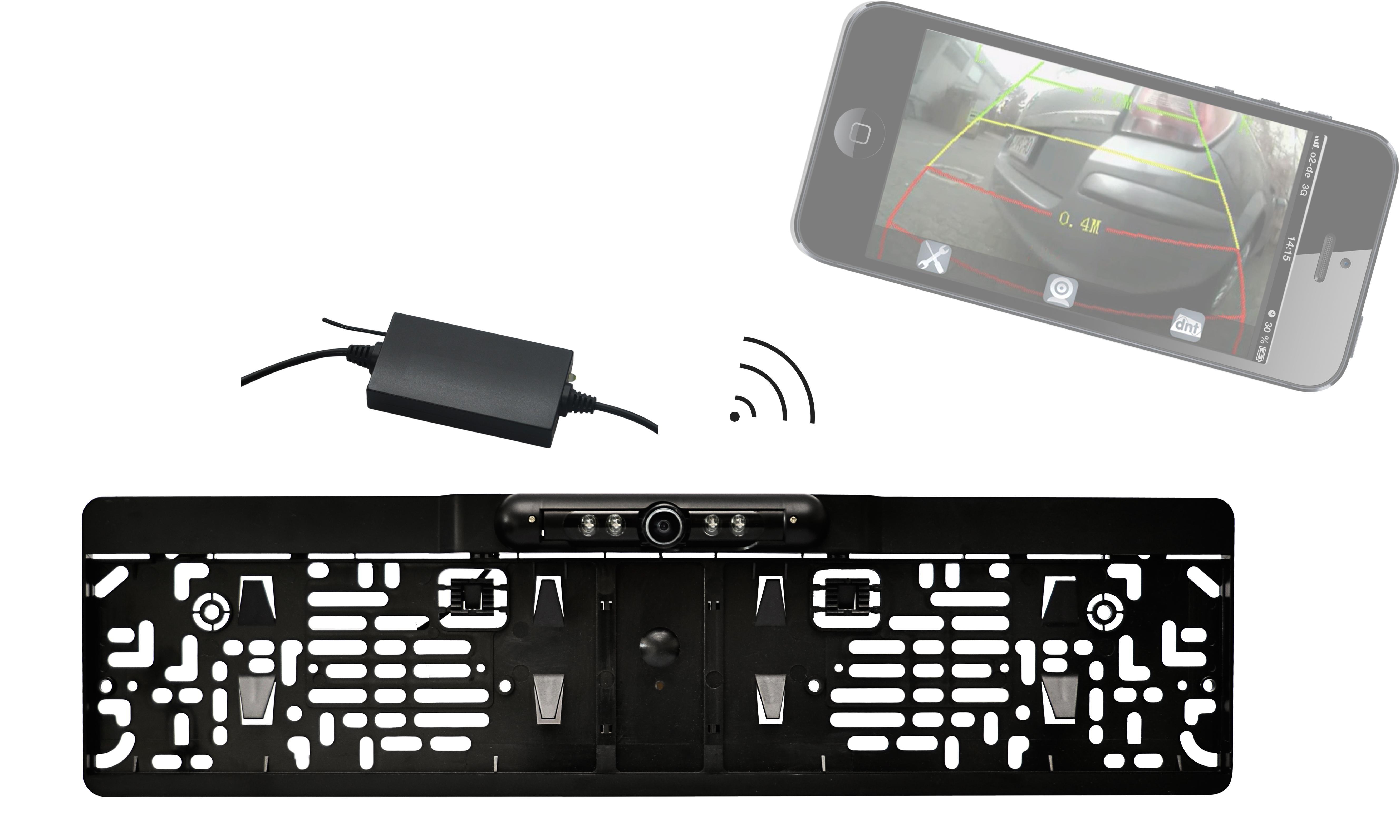 rfk wifi r ckfahr kamera system mit smartphone app amazon. Black Bedroom Furniture Sets. Home Design Ideas