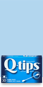 Q-tips Cotton Swabs are perfect for applying, blending or removing precisely cosmetics on-the-go.