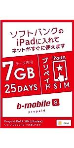 ソフトバンク iPad 7GB ナノ