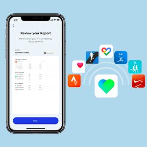 Bluetooth app sync