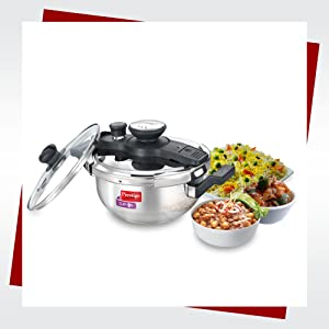 CLIP-ON STAINLESS STEEL PRESSURE KADAI