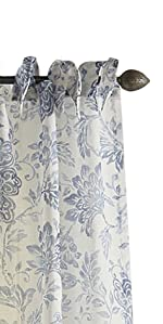 Elrene Home Fashions Westport Sheer Window Curtain Collection