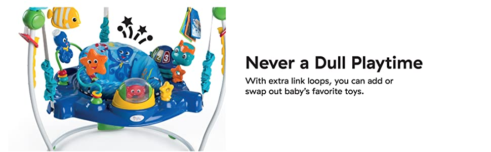 extra loops, swap out toys more play add