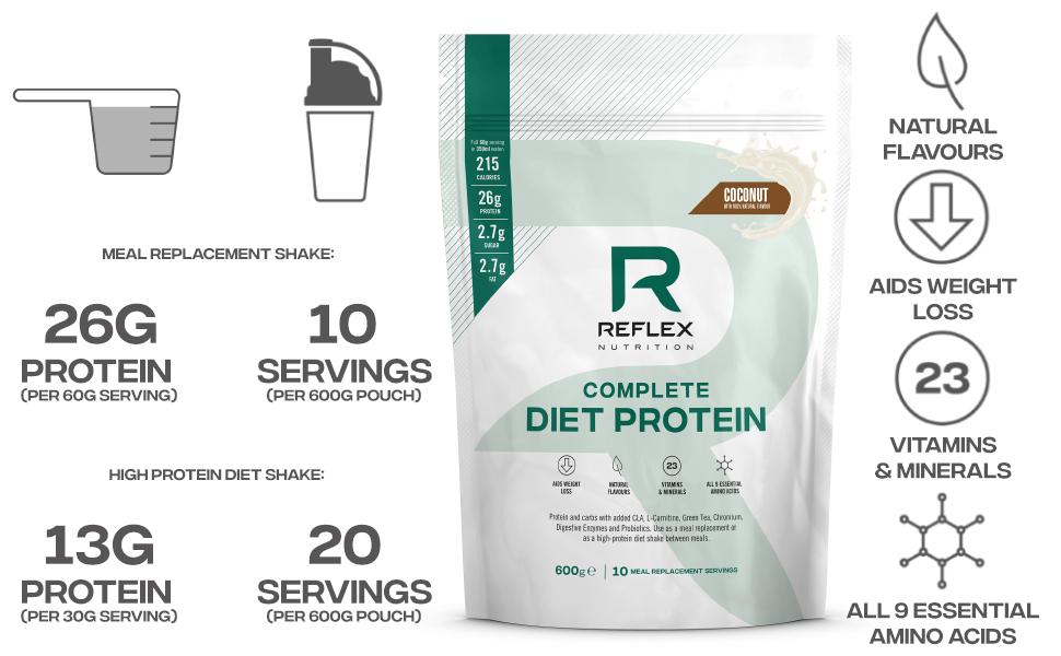 Reflex Nutrition Reflex Nutriton Sustituto De Comida Para ...