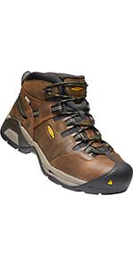 d3b09a3fcca Amazon.com   KEEN Utility Men's Detroit Xt Mid Steel Toe Waterproof ...