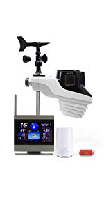 acurite atlas weather station with lightning monitoring wind rain temperature wind rainfall app