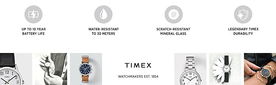 Timex watchmakers established 1854