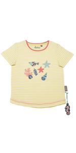 Camiseta de verano para niña 98, 104, 110, algodón