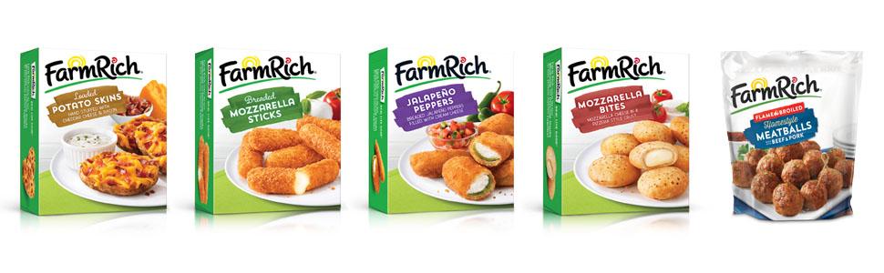 Farm Rich frozen appetizers