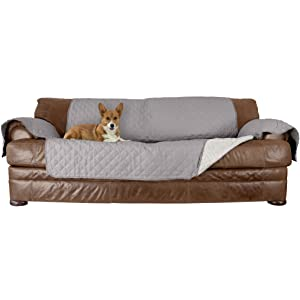 Pleasing Furhaven Pet Furniture Cover Two Tone Reversible Water Resistant Quilted Living Room Furniture Cover Protector Pet Bed For Dogs Cats Available Machost Co Dining Chair Design Ideas Machostcouk