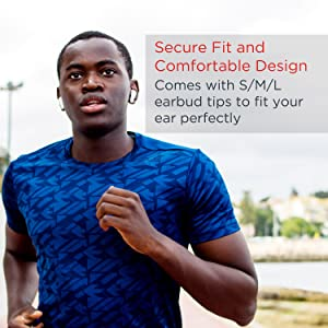 Secure fit and comfortable design