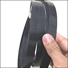 woven cord strapping white tape polyester poly strap packaging pallet package banding