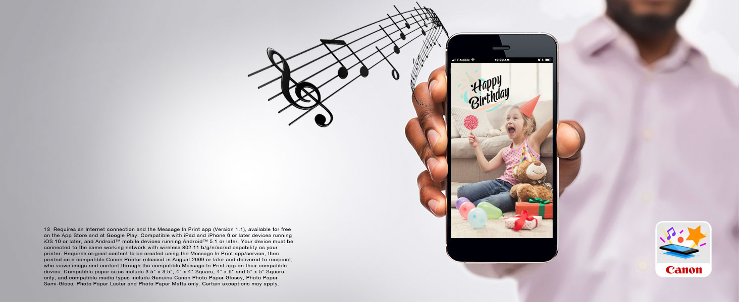 Message In Print App