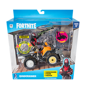 Fortnite Quadcrasher Vehicle and Figure Playset