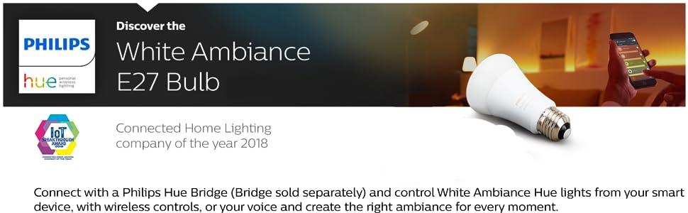 White Ambiance Color Bulb E27