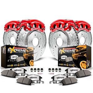 truck brake pad, truck brake rotor, brake calipers, front and rear brake kit