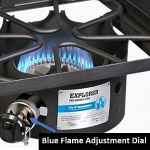 cooker double burner best camping coleman stansport camp outdoor cooking kitchen explorer 2x 3x cook