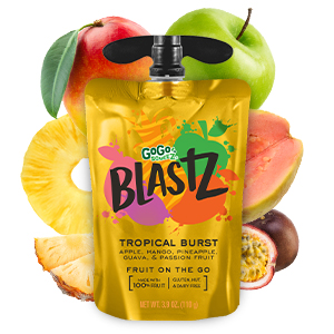 GoGo squeeZ BlastZ Tropical Burst
