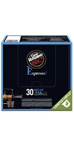 caffè vergnano capsule compostabili espresso compatibili nespresso decaffeinato