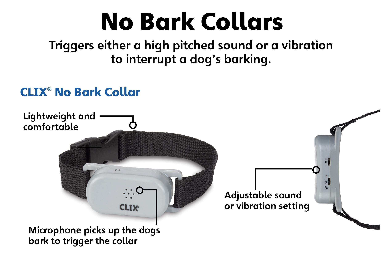 CLIX No Bark Collar, Large: Amazon.co.uk: Pet Supplies