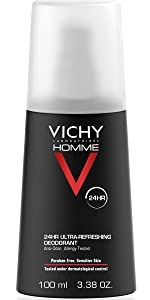 Vichy Homme Deodorant Spray