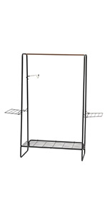 garment rack, clothes rack, portable clothes rack, walmart clothes rack, hanger hook rack