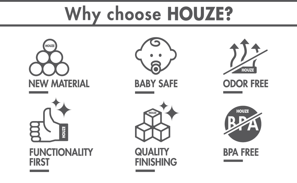 Why choose Houze?